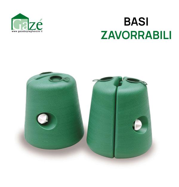Base in plastica per gazebo pieghevole - GAZE'