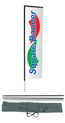 Bandiere rettangolari da esterno